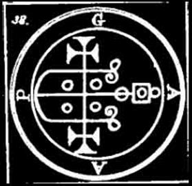 gaap, daemon, goetia, sigilo, ocultismo