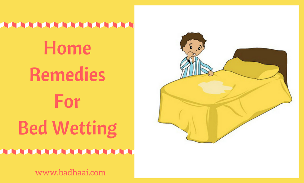 home remedies for bed wetting