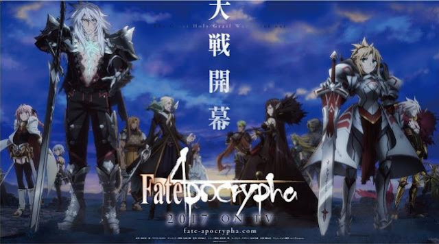 Fate/Apocrypha - Top Best anime by A-1 Pictures List