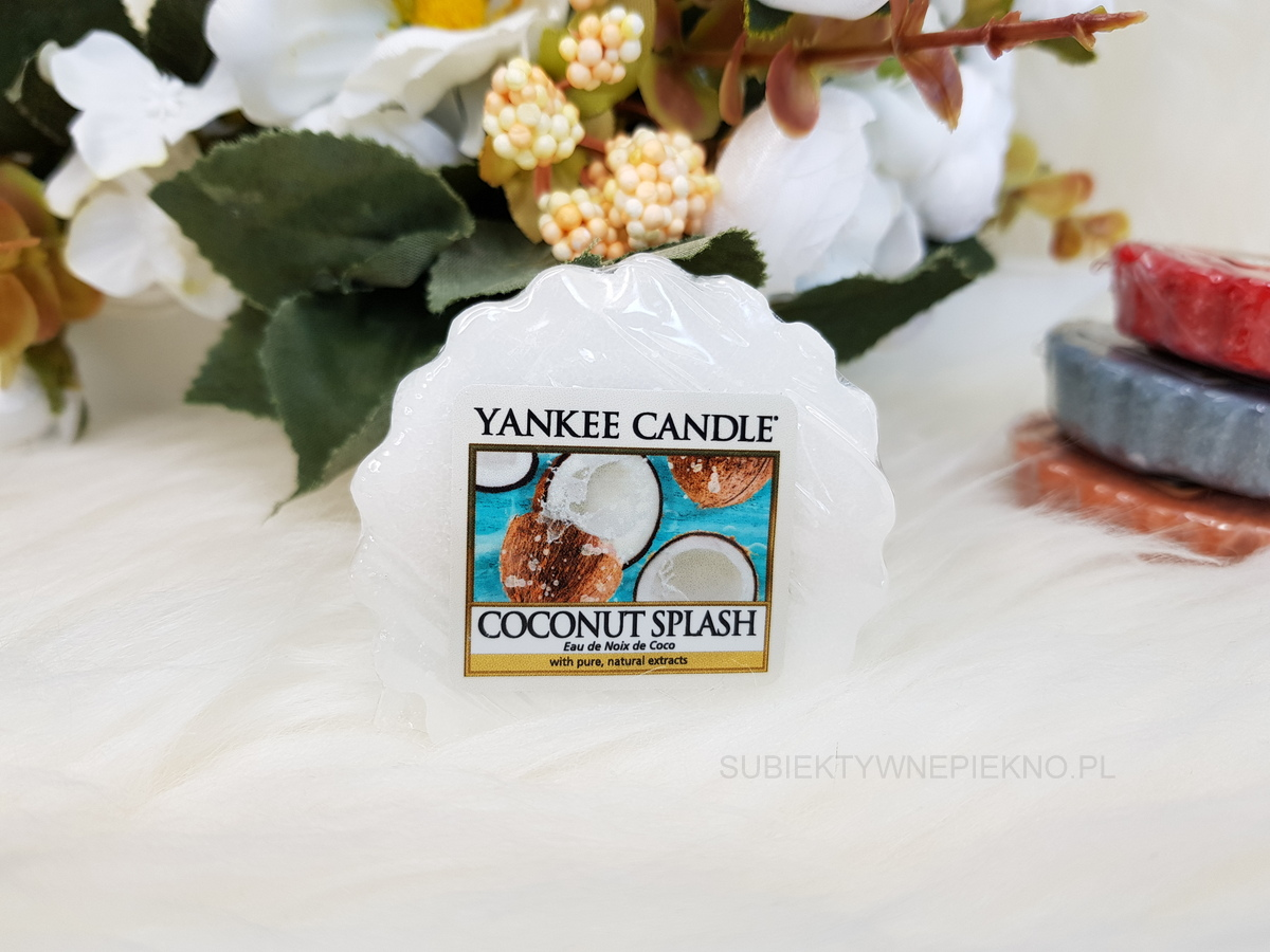 COCONUT SPLASH YANKEE CANDLE | Nowa, letnia kolekcja Q2 2018 Just Go