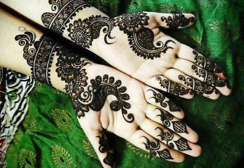 Pakistani Henna Designs Pics