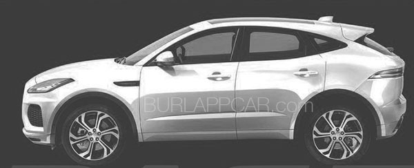 Cool Burlappcar 2018 Jaguar EPace