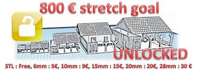 £800 Stretch Goal