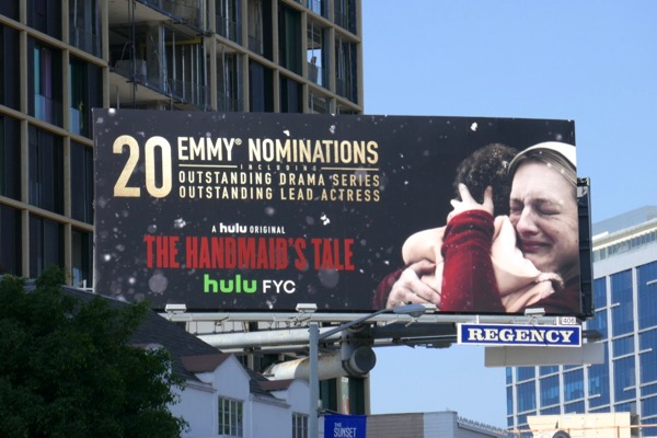 Handmaids Tale season 2 Emmy nominee billboard