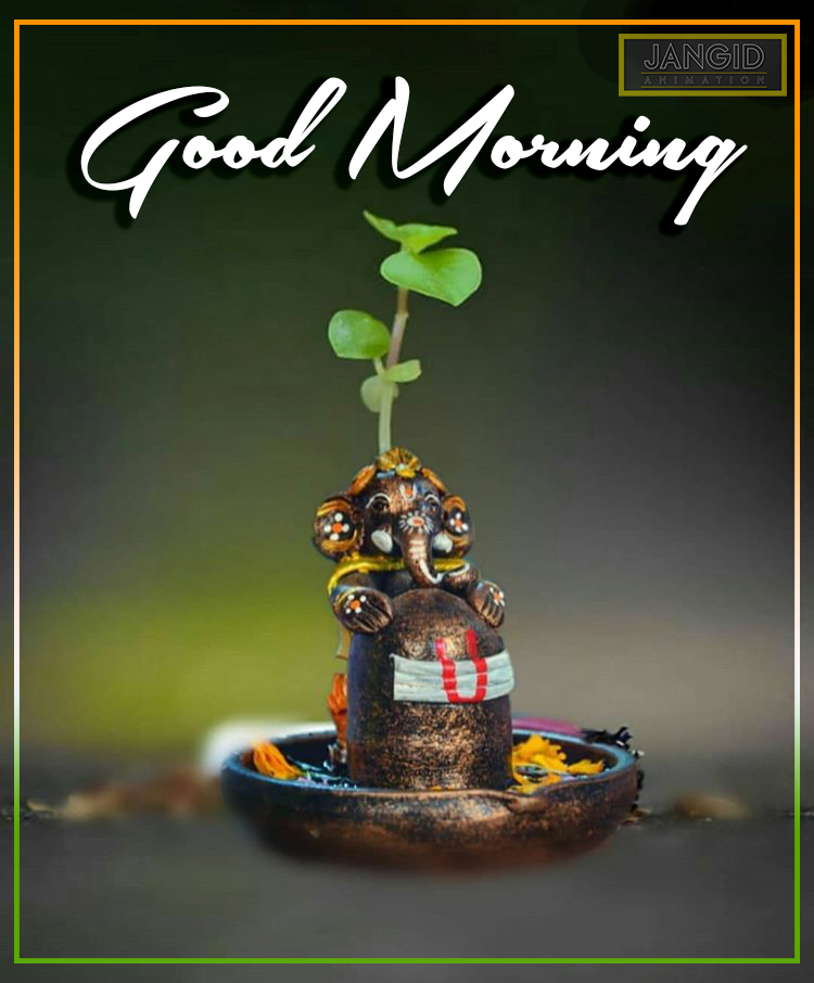 Good Morning Ganesh Ji Jangid Animation