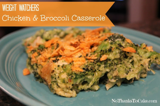 Chicken and Broccoli Casserole  | Weight Watchers Chicken Recipe