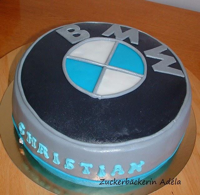 Zuckerbckerin Adla BMW Logo  Torte _ 03052014