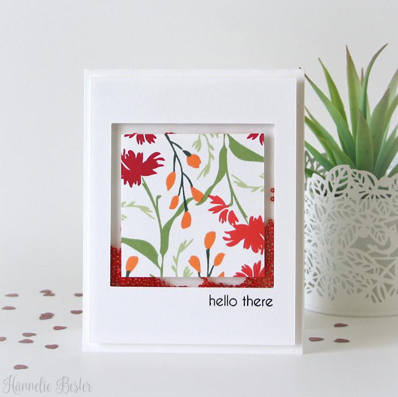 Altenew Wild Flower Garden stamp set