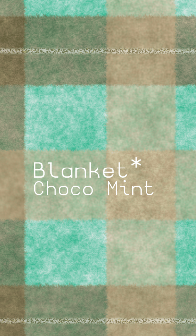 Blanket*Choco Mint