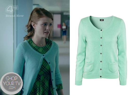 Skins: Season 6 Episode 1 Jane's (Assistant's) Green Cardigan | Shop