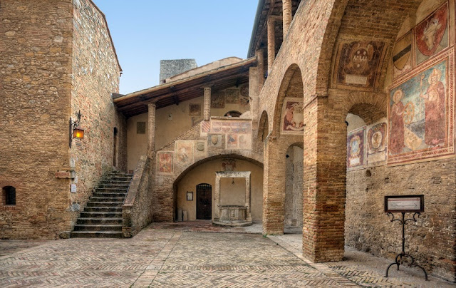 O que ver/fazer na Colegiada de San Gimignano
