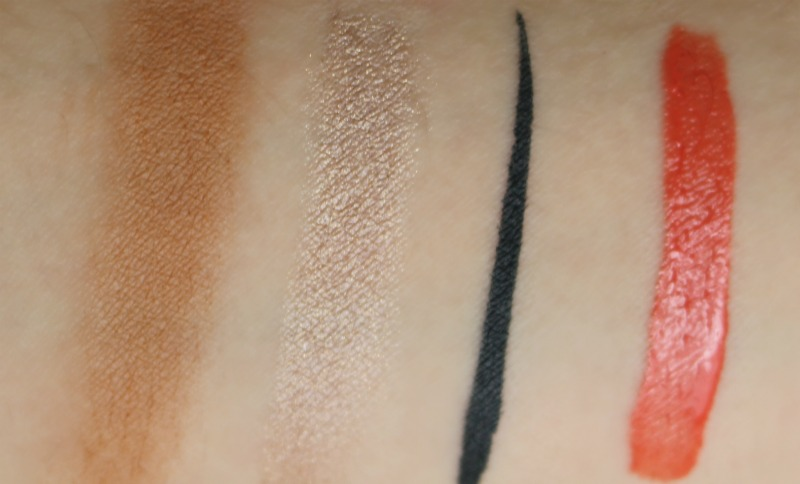 Sothys Desert Chic Makeup Collection Swatches