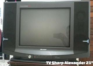 """Kerusakan TV Sharp Alexander 21"""""""