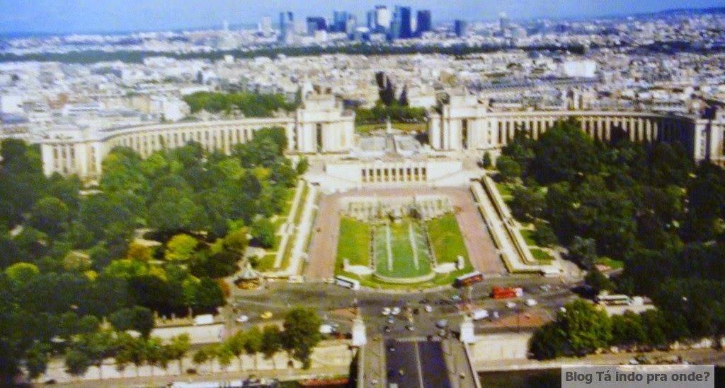 vista da Torre Eiffel - Paris