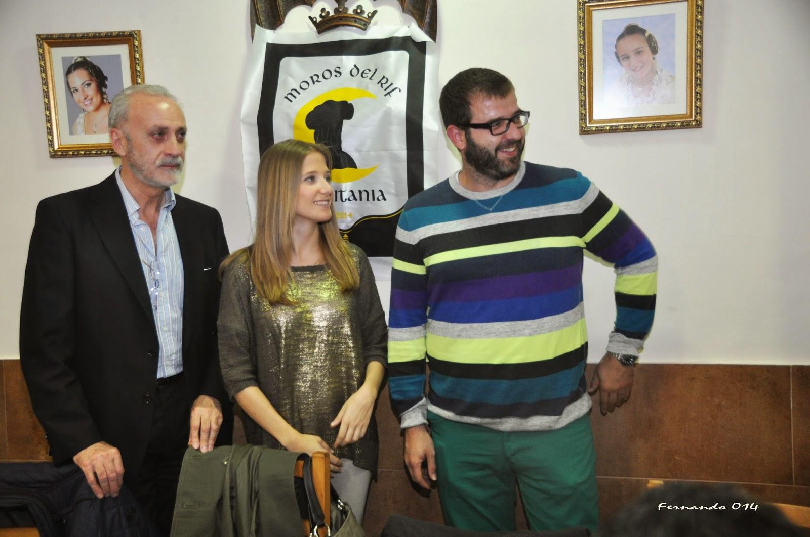 Nombramiento de Capitanes y Madrina XI Entrada Moros y Cristianos Ciudad de Valencia