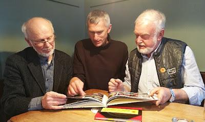 Prof. Herbert Wiener, Jakub Šiška, Hans Fischer am 24.April 2016