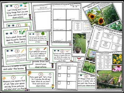 https://www.teacherspayteachers.com/Product/Garden-Discovery-Fun-In-the-Garden-or-the-Schoolyard-1326807