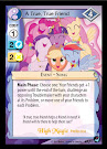 My Little Pony A True, True Friend High Magic CCG Card