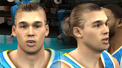 NBA 2K13 Lou Amundson Cyberface Patch