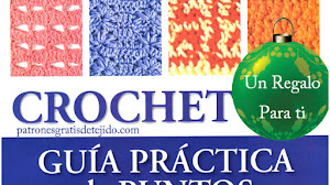 50 Patrones de Puntos Crochet  ~ PDF Gratis
