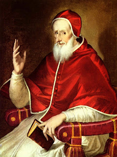 Painting of Pope Saint Pius V