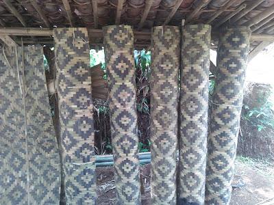 bilik bambu siap kirim