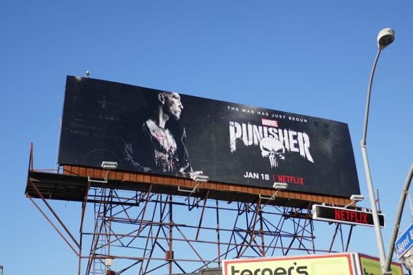 Punisher season 2 billboard