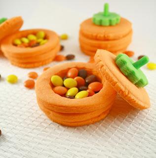 Biscuits Citrouille 3D