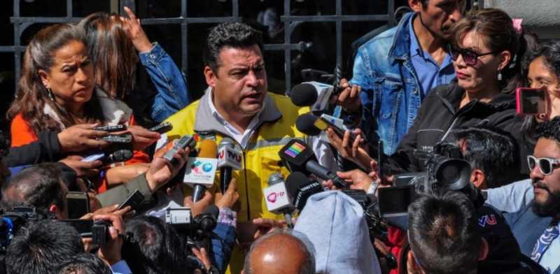 Alcalde se mantiene en la mira del autonombrado presidente de Fejuve, Jesús Vera / AMN