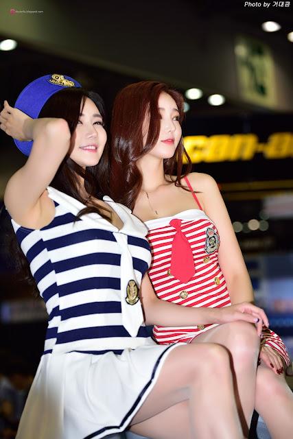 4 Han Ga Eun 2016 Korea International Boat Show - very cute asian girl-girlcute4u.blogspot.com