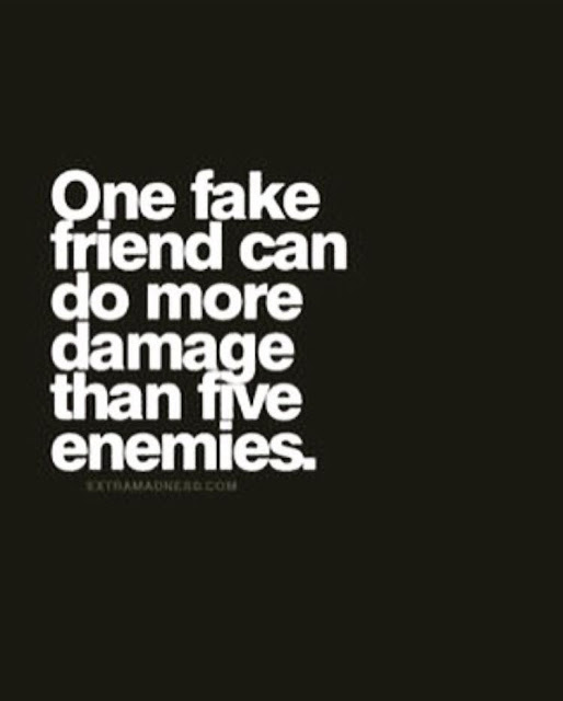 Fake friend quotes , fake friend is worse than enemy
