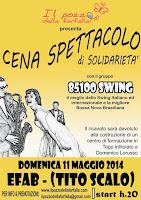 DOMENICA 11 MAGGIO 2014 Cena - Spettacolo 2014
