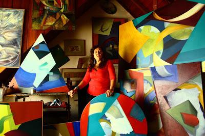 Nora Corradetti en Puertas Abiertas de San Isidro