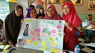 GRes Sebelum Tampil Presentasi #500Catventure Semarang