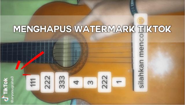 Menghapus Tulisan TikTok atau Watermark pada Video TikTok