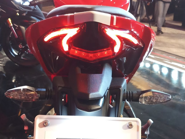 New 2018 TVS Apache RR 310 Taillight image