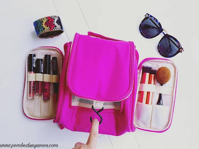 bölmeli makyaj çantası