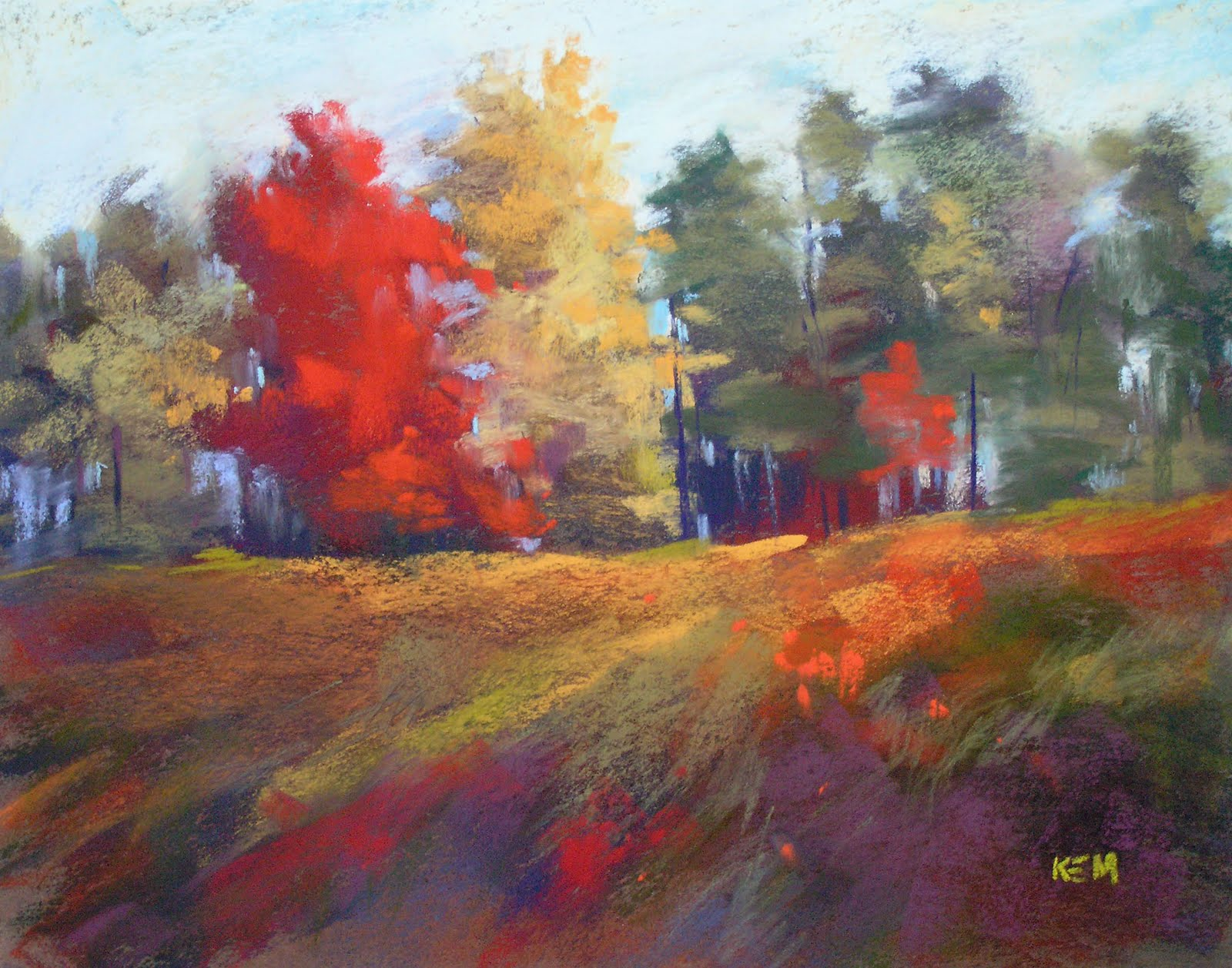 Image result for daily painters autumn colors