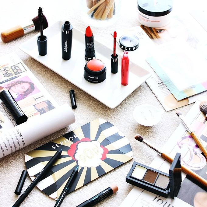 Sephora spring makeup haul