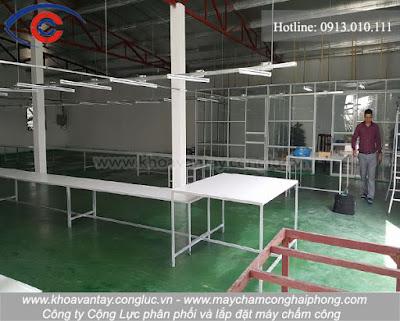 Một góc khác của nhà xưởng của công ty Tụ Hữu - Kim Thành - Hải Dương.