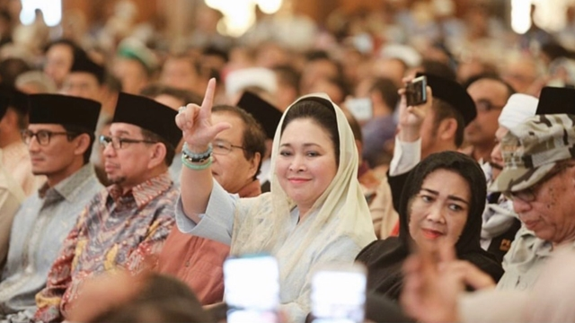 Titiek Soeharto: Kita Nggak akan ke MK, Kita Berjuang di Jalanan!