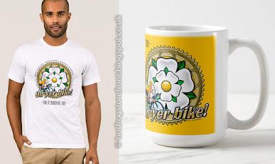 image of T shirts  & coffee mug for Tour de Yorkshire