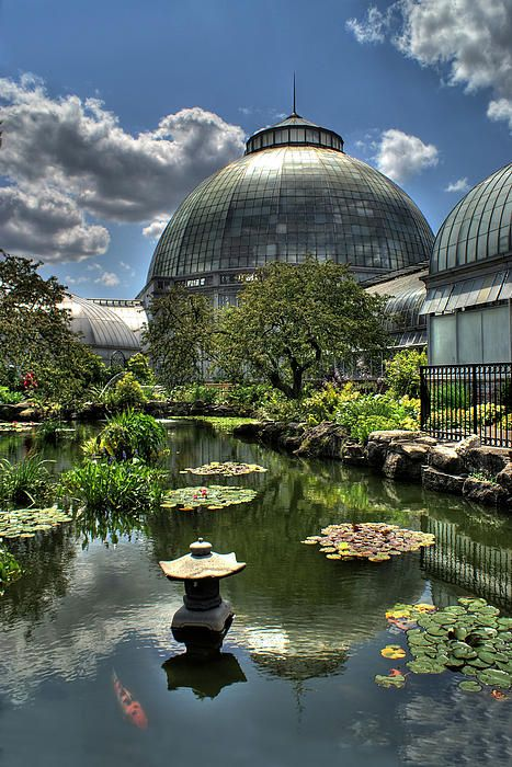 Detroit´s Belle Isle Conservatory, Michigan, USA