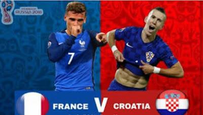 FIFA World Cup 2018 Rusia, Perancis vs Kroasia