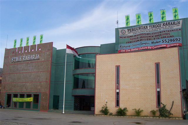 Image result for Perguruan Tinggi Raharja Tangerang