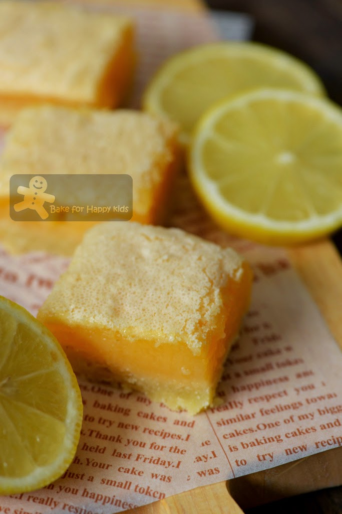 luscious lemon slice bar Belinda Jeffery