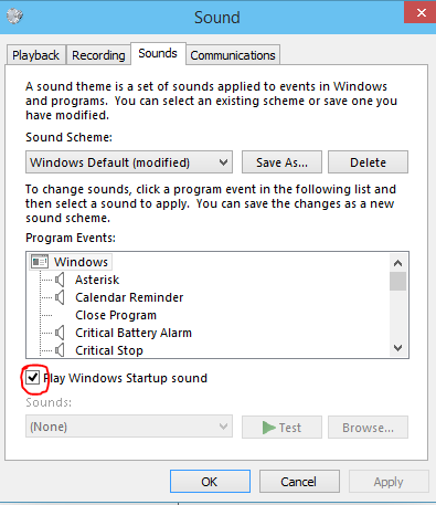 Startup Sound Changer For Windows 10-8-7 | ORISIGNAL