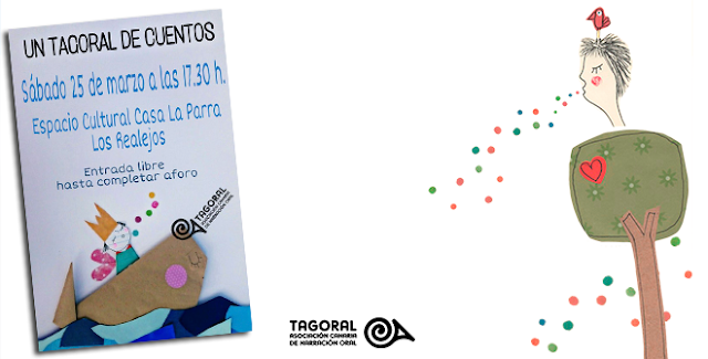 La Asociación Canaria de Narración Oral te invita a disfrutar del próximo  TAGORAL DE CUENTOS, que tendrá lugar en el Espacio Cultural Casa La Parra de los Realejos el sábado, 25 de marzo