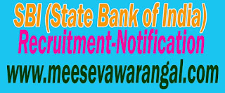 SBI (State Bank of India) Recruitment Notification 2016 Apply www.sbi.co.in