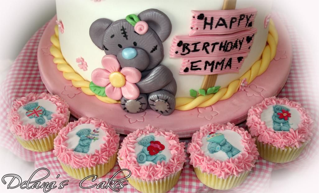 Delana S Cakes Tatty Teddy Birthday Cake